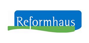 Hier ist das Logo des Reformhauses Mayr abgebildet.