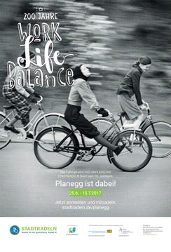 Plakat Stadtradeln Planegg 2017